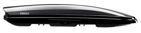 Thule Dynamic 900 Czarny aerodynamiczny box dachowy